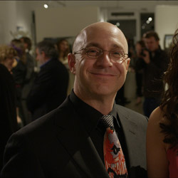 Actors Brian Markinson as 'Otto' and Jennifer Spence as 'Aki'