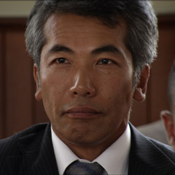 Actor Hiro Kanagawa as 'Aki's Father'
