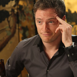 Actor Tahmoh Penikett as 'Chris'